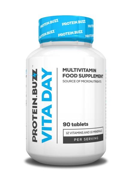 Protein.buzz Vita Day PB 90 Tabletten