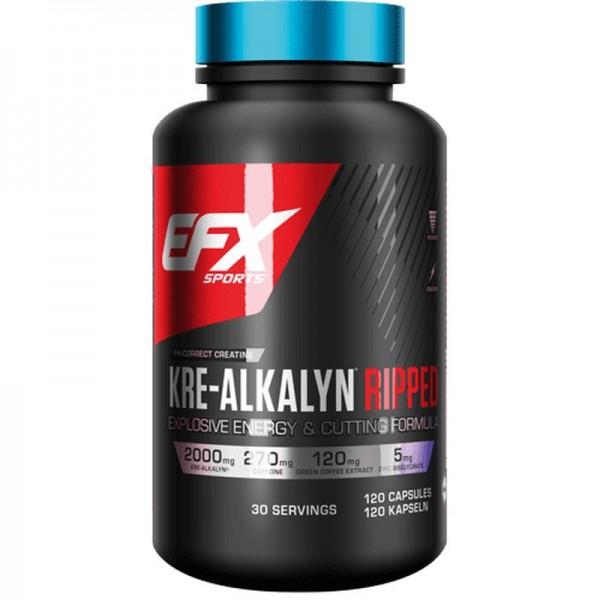EFX Kre-Alkalyn Ripped 120 Kapseln