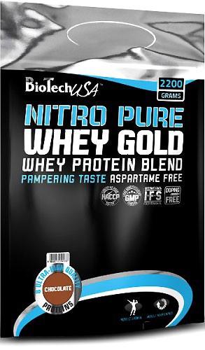 BioTech USA Nitro Pure Whey Gold 2200g
