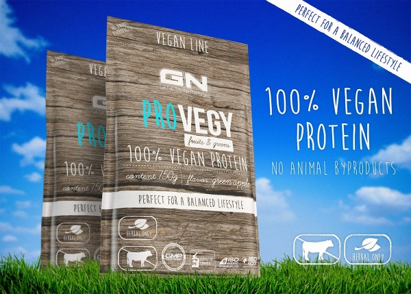 GN Laboratories Pro Vegy 100% Vegan Protein 750g