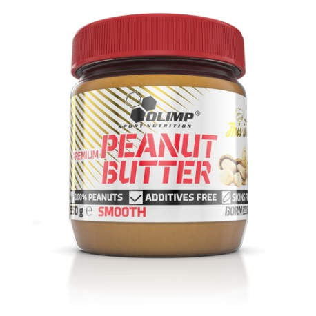 Olimp Peanut Butter Crunchy (350g Dose)