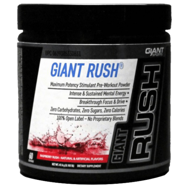 Giant Sports Giant Rush 60 Servings