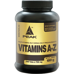 Peak Vitamins (A-Z) 240 Tabletten