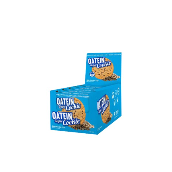 CoreX Oatein Cookies Chips -12 x 75g