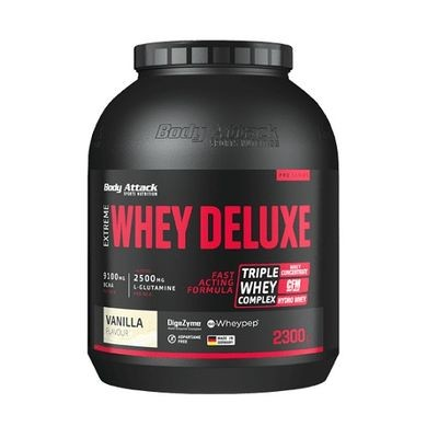Body Attack Extreme Whey Deluxe 2300g - Whey Protein