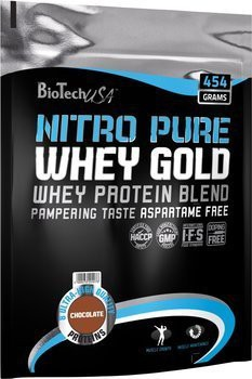 Biotech USA Nitro Pure Whey Gold 454g