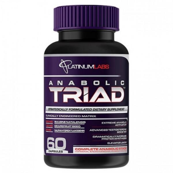 Platinum Labs Anabolic Triad 60 Kapseln u.a. Laxogenin