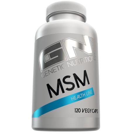 GN Laboratories MSM Methylsulfonylmethan 120 Kapseln - GN HEALTH LINE