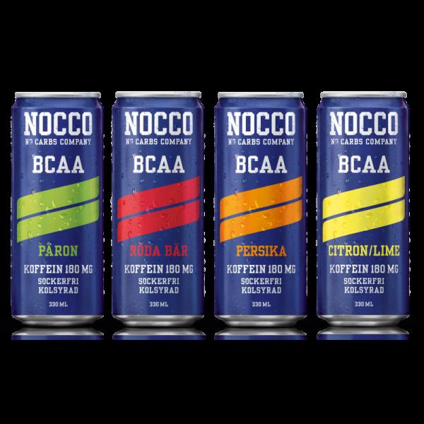 Nocco BCAA Drink (24 x 330 ml) inkl. Pfand!