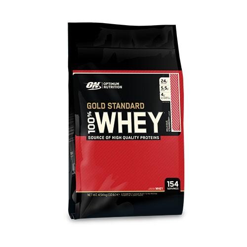 Optimum Nutrition 100% Whey Protein Gold Standard 4545g 10lb