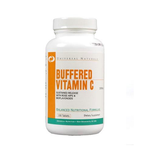 Universal Nutrition Buffered Vitamin C 100 Kapseln