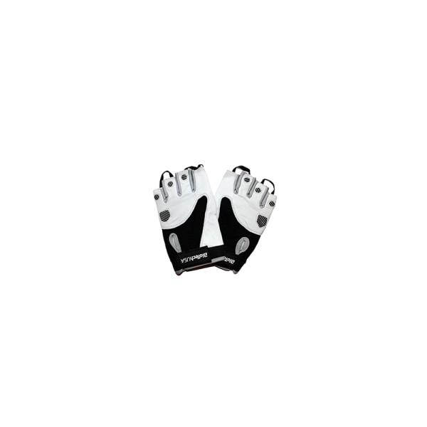 TEXAS Handschuhe schwarz/weiß