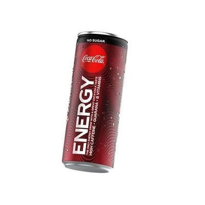 Coca-Cola Energy ZERO 12 x 250ml ohne pfand! NO SUGAR