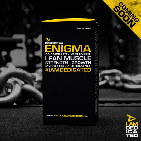 Dedicated Nutrition Enigma 50 Kapseln - 50 Servings