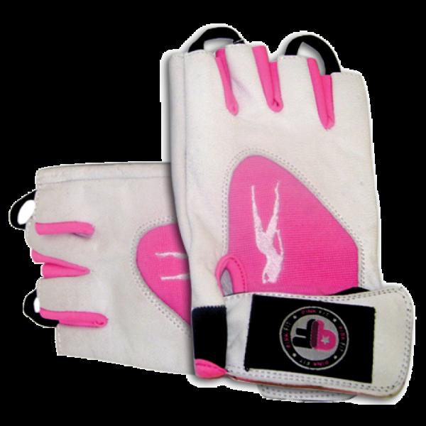 Biotech USA Pink Fit Handschuhe weiß-pink