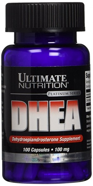 Ultimate Nutrition DHEA 100 caps a 25mg,50mg oder 100mg