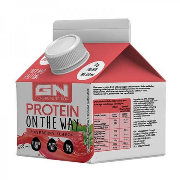 GN Protein on the Way 6x300ml - Proteindrink 30g Protein