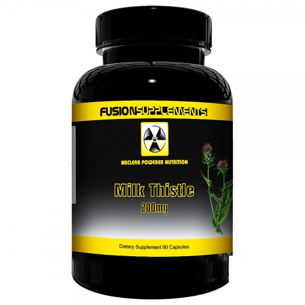 Fusion Supplements Milk Thistle 90 Kapseln a 200mg