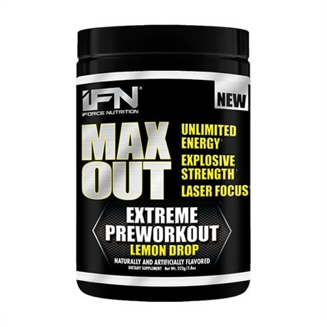 iForce Nutrition Max Out 222g - SALE