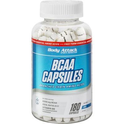 Body Attack BCAA Capsules 180 Kapseln