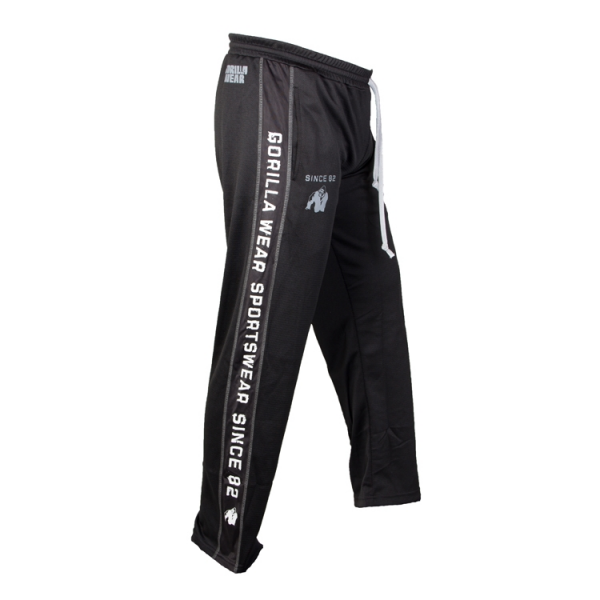 Gorilla Wear Functional Mesh Pants - Black/White SIze S/M SLAE