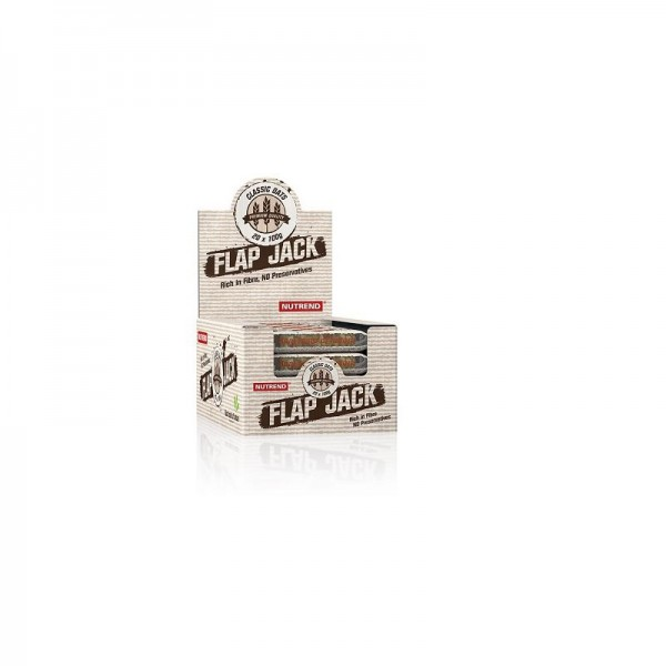 Nutrend FLAPJACK Oatbar 20x 100g Riegel - energy cake alternative