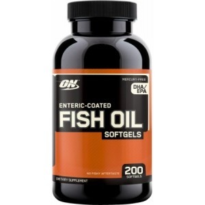 Optimum Nutrition Fish Oil 200 Kapseln