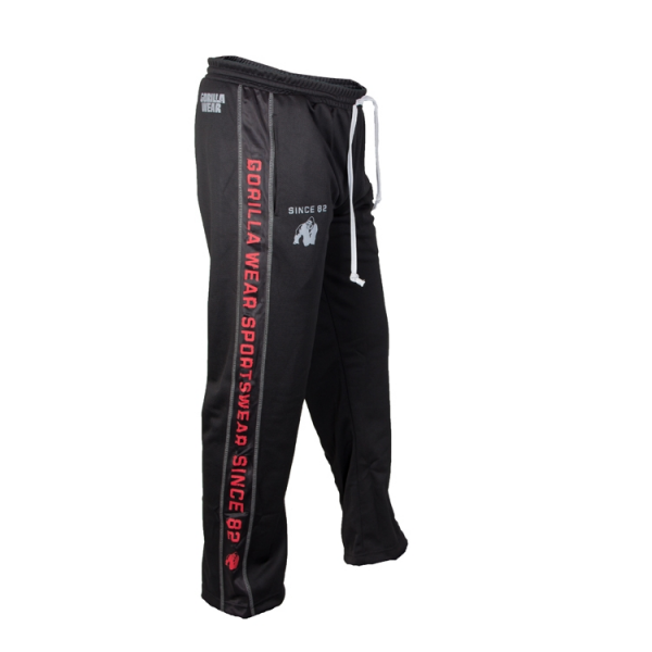 Gorilla Wear Functional Mesh Pants - Black/Red