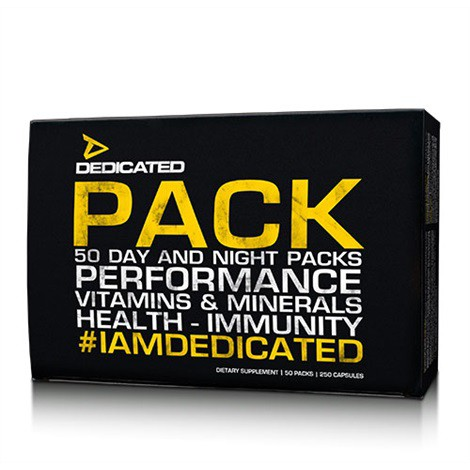 Dedicated Pack V2 50 Packs - AM/PM Split Formel 25 Servings