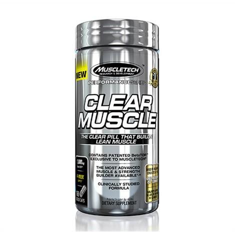 MuscleTech Clear Muscle 168 Kapseln