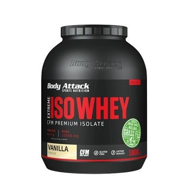 Body Attack Extreme ISO WHEY 1800g - Isolate Protein