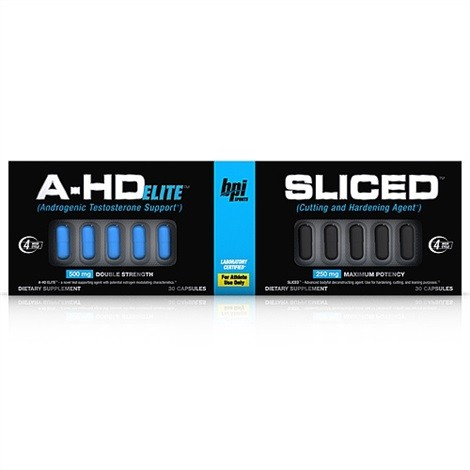 BPi Sports A-HD Elite - Sliced Stacking Protocol 2x30 Kapseln