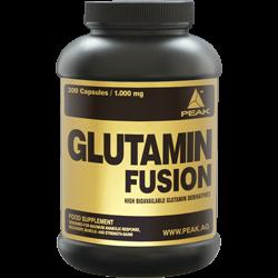 Peak Glutamin Fusion 200 Kapseln