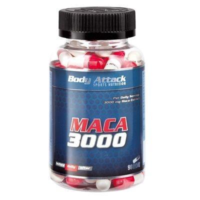 Body Attack Maca 3000 90 Kapseln