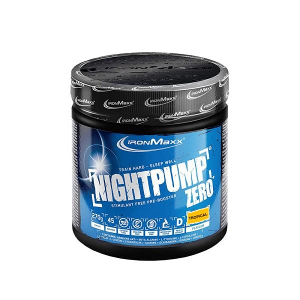 IronMaxx Nightpump Zero 270g - Effektiver Booster ohne Koffein