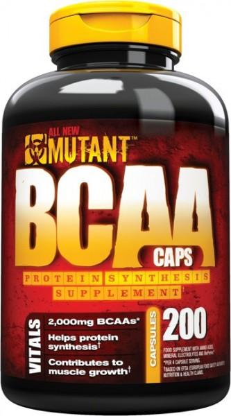 MUTANT BCAA Caps 200 Kapseln