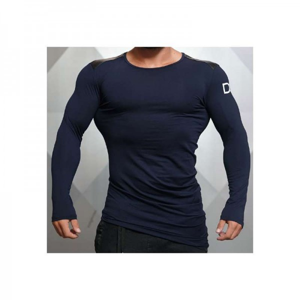 Body Engineers Dream Chaser – Enigma Long Sleeve NAVY BLUE