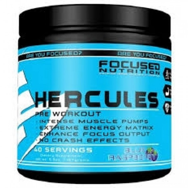 Focused Nutrition Hercules 121g - 20 Servings DMHA/Eria Jarensis BOOSTER