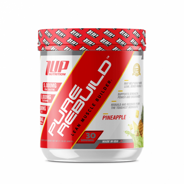 1UP Nutrition Pure Rebuild 600g - 30 Servings