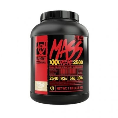 Mutant Mass XXXTREME 2500 3,18kg - WEIGHT GAINER