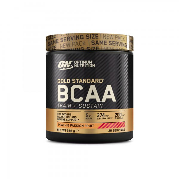 Optimum Nutrition Gold Standard BCAA (Train + Sustain) 266g Dose