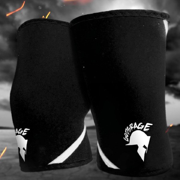 Warrior Knee Sleeves - Gods Rage