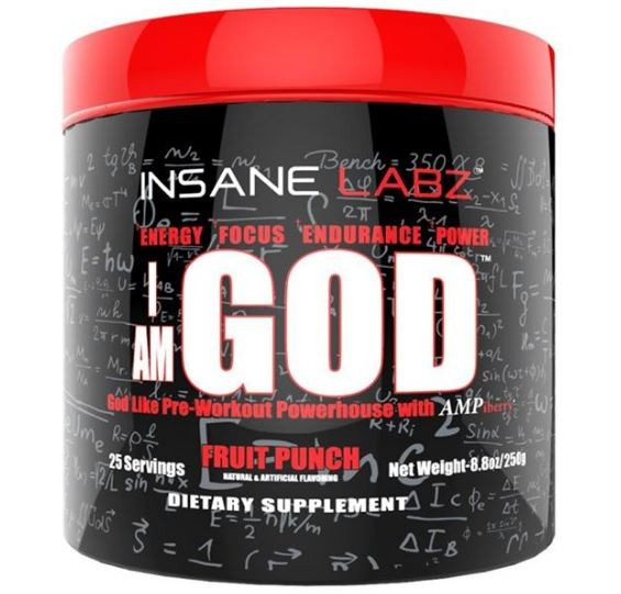 Insane Labz I am God 250g - 25 Servings