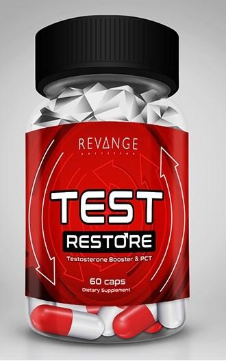 Revange Nutrition Test Restore 60 Kapseln - PCT 50mg Androsta