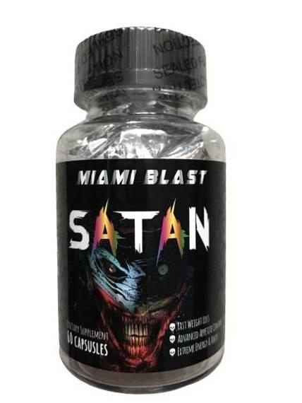 Revange Miami Blast Satan 60 Kapseln - EXTREM Fatburner