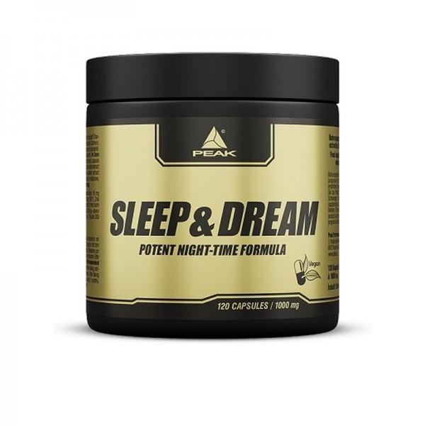 Peak Sleep & Dream 120 Kapseln - Schlafsupplement u.a. Melatonin