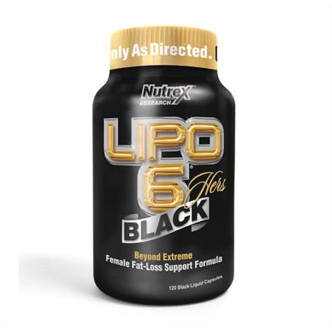 Nutrex Lipo-6 Black Hers - 120 Kapseln