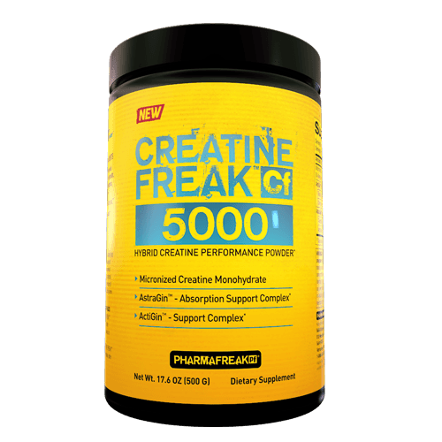 PharmaFreak Creatine Freak 5000 500g - Achtung: - MHD 01/2018