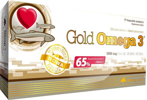 Olimp Gold Omega-3 60 Kapseln