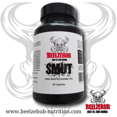 Beelzebub Nutrition SMUT 90 Kapseln - a 25mg Norcoclaurin (Higenamin)